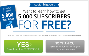 insulting conversion rate optimization from social triggers